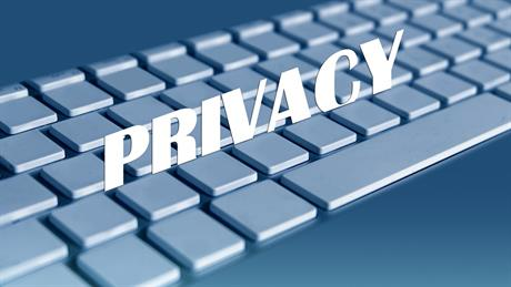 Toetsenbord privacy