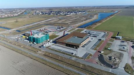 Luchtfoto van Warande