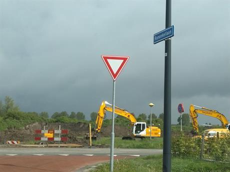 Heijmans maakt De Olmen - Buizerdweg bouwrijp