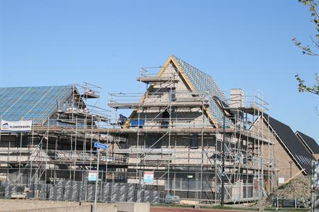 De bouw van To Parnassia vordert