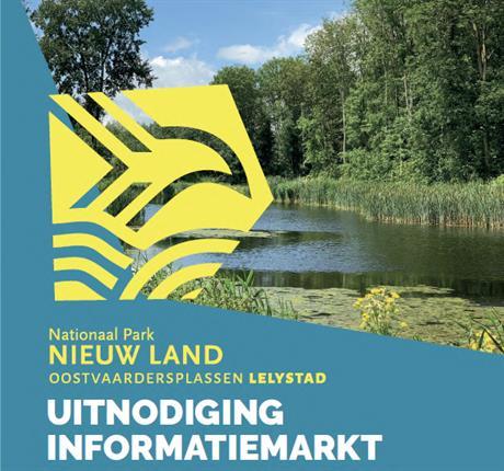 Uitnodiging Informatiemarkt Poort Oostvaardersplassen Lelystad