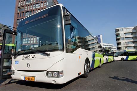 een bus