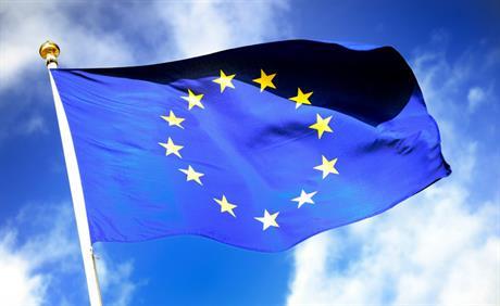 Europese vlag. Foto: Lex van Lieshout ANP XTRA