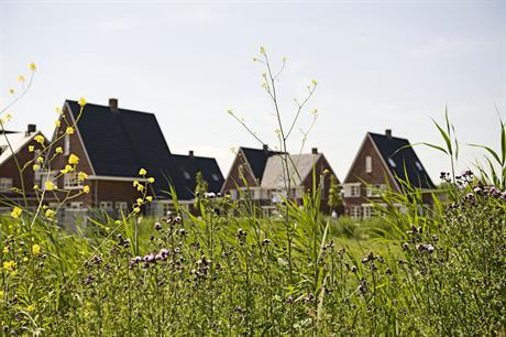 Woningen in de wijk HanzePark