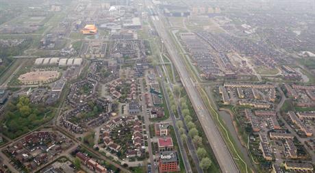 Luchtfoto Lelystad