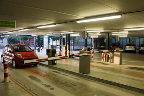 parkeren Zilverparkgarage