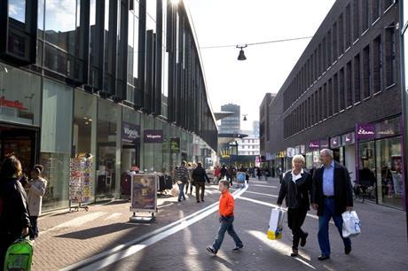 Winkelen in het stadshart