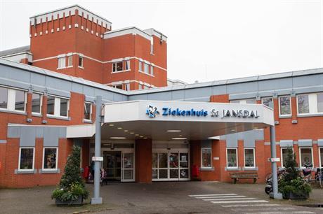 Ingang ziekenhuis