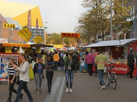 Markt in het Stadshart