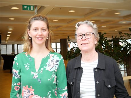 Mediators Hadassa Lianne Rijs (links) en Joke Staal