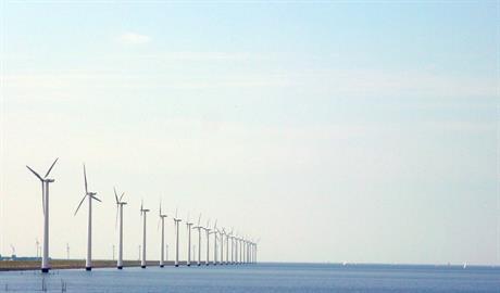 Windmolens in water