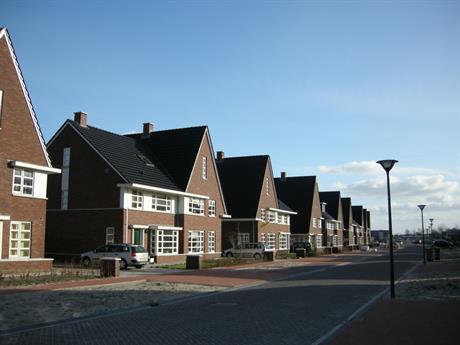 Straat in HanzePark