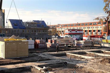 Woningbouw in Parkwijk