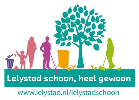 Campagnebeeld Lelystad Schoon