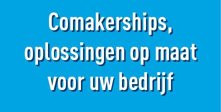 Banner Comakerships - Comakerships, oplossingen op maat voor uw bedrijf