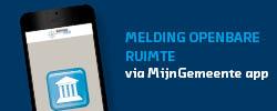 Nieuwsbriefbanner Meldings-app openbare ruimte